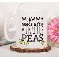 Personalised Mug - Mummy Pea - Cutlery Gifts