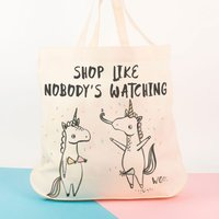 Personalised Banter Pants Tote Bag - Unicorns - Unicorns Gifts