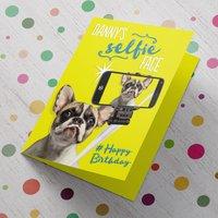 Personalised Birthday Card - Selfie Face - Selfie Gifts
