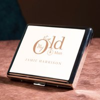 Engraved Cigarette Case - My Old Man - Cigarette Gifts