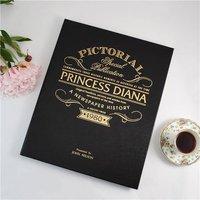 Personalised Newspaper Book -  Princess Diana - Newspaper Gifts