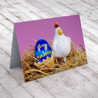 Personalised Card - Chicken Nest - Chicken Gifts