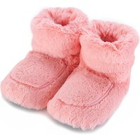 Cozy Boots™ Pink Microwavable Slipper Boots - Boots Gifts