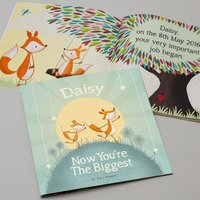 Personalised Now You're The Biggest Book - Book Gifts