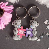 Me To You - Two Puzzle Pieces Key Rings, Friends Always - Puzzle Gifts