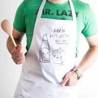 Personalised Apron - Banter Pants, The Sauce - Apron Gifts