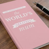 Personalised Address Book - The World's Greatest - Book Gifts
