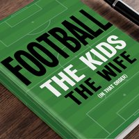 Personalised Diary - Football Order - Football Gifts