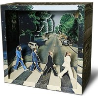 Tatebanko Paper Dioramas - The Beatles Abbey Road - The Beatles Gifts