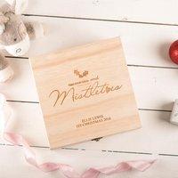Personalised Storage Box - Memories And Mistletoes - Memories Gifts