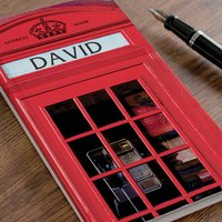Personalised Address Book - Phone Booth - Phone Gifts
