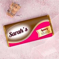 Personalised Dark Chocolate Bar - Dark and Silky - Dark Chocolate Gifts