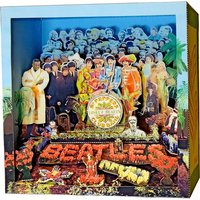 Tatebanko Paper Dioramas - The Beatles Sgt. Pepper's - The Beatles Gifts