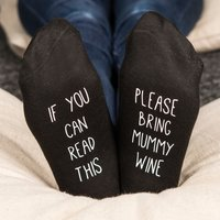Personalised Socks -  If You Can Read This - Read Gifts