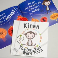 Personalised The Day You Were Born Book - Book Gifts