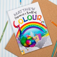 Personalised Story Book - A World Of Colour - Colour Gifts