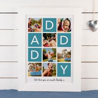 Photo Upload Print - 7 Photos, Daddy - Photos Gifts