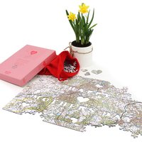 Personalised Mother's Day Postcode Jigsaw - Heart of Our Home