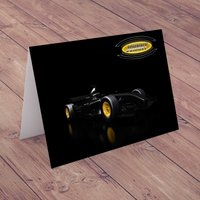 Personalised Card - Formula One Car - Formula 1 Gifts
