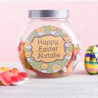 Personalised Haribo Sweet Jar - Chicks Hatching - Haribo Gifts