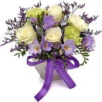 Personalised Purple Pearl Vase - Vase Gifts