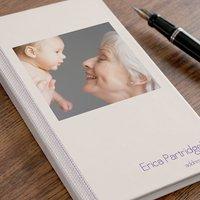 Photo Upload Address Book - Cream Design - Book Gifts