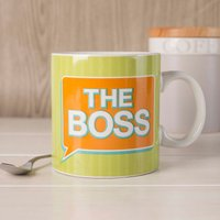 The Boss Mug - Cutlery Gifts