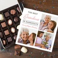 Photo Upload Belgian Chocolates - Best Grandma - Grandma Gifts