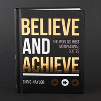 Believe And Achieve Book - Book Gifts