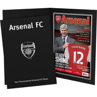 Personalised Arsenal Magazine Cover - Arsenal Gifts