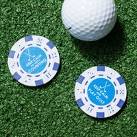 Keep Calm Poker Chip Ball Markers - Poker Gifts