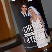 Photo Upload Beer - Cheers To Years - Beer Gifts