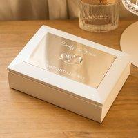 Personalised Couples Keepsake Box - Keepsake Gifts
