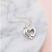 Personalised Posh Totty Designs Baby Names Hearts Necklace - Posh Gifts