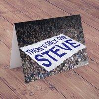Personalised Card - Football Flag - Football Gifts