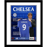 Personalised Chelsea Magazine Cover - Chelsea Gifts