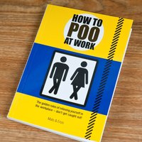 How To Poo At Work - Gift Book - Poo Gifts