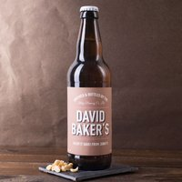 Personalised Beer - Brewed And Bottled For You - Beer Gifts