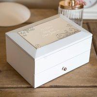 Personalised Two-Storey Jewellery Box - Jewellery Box Gifts