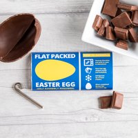 Personalised Chocolate Bar – Flat Packed Easter Egg
