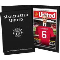 Personalised Manchester United Magazine Cover - Manchester Gifts