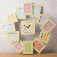 Photo Frame Clock - My First Year
