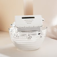 Engraved Noahs Ark Money Box