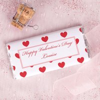 Personalised Chocolate Bar - Valentines - Valentines Day Gifts