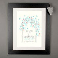 Personalised Print - Wedding Arch