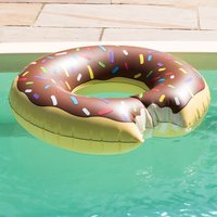 Inflatable Doughnut Pool Float - Pool Gifts