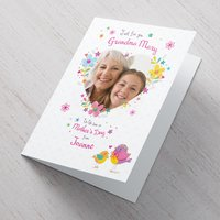 Photo Upload Mother's Day Card - Grandma - Grandma Gifts