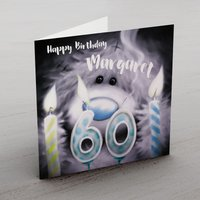 Personalised Me To You Card - 60 Candles - Seek Gifts