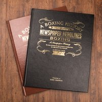 Personalised Sports Book - Boxing Edition - Boxing Gifts