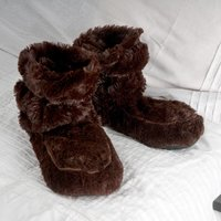 Cozy Boots™ Brown Microwavable Slipper Boots - Boots Gifts
